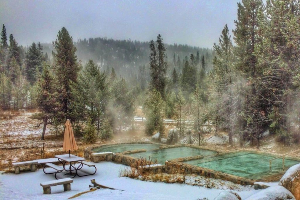 A picture of Gold Fork Hot Springs