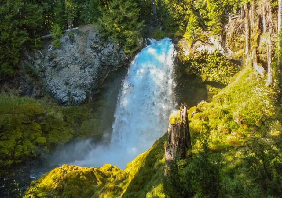 Sahalie and Koosah Waterfalls