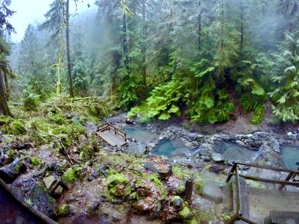 Cougar Hot Springs Hiking Trail