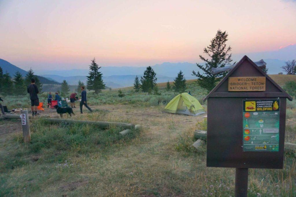 Curtis Canyon Campground