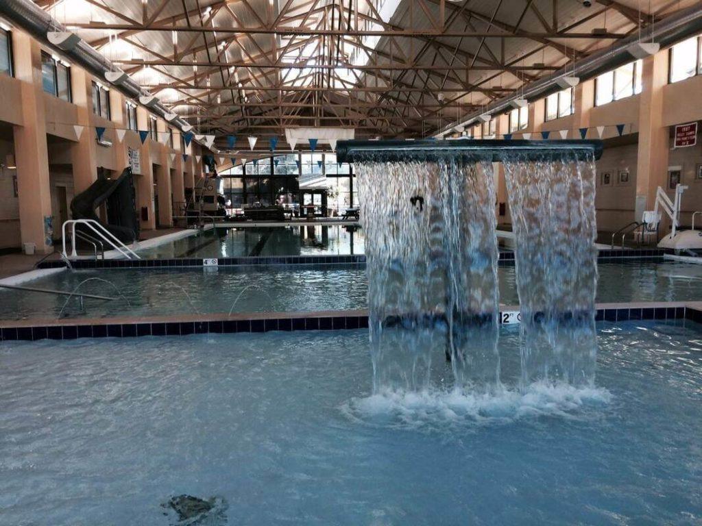 How Big is Salida Hot Springs?