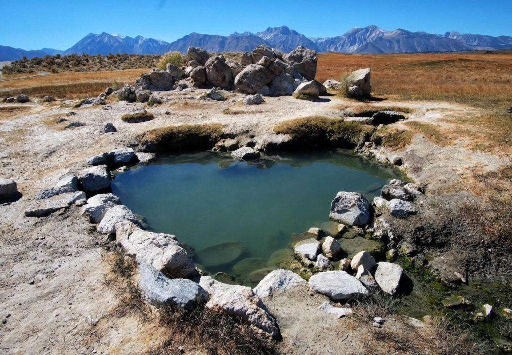 Mammoth Lake Hot Springs