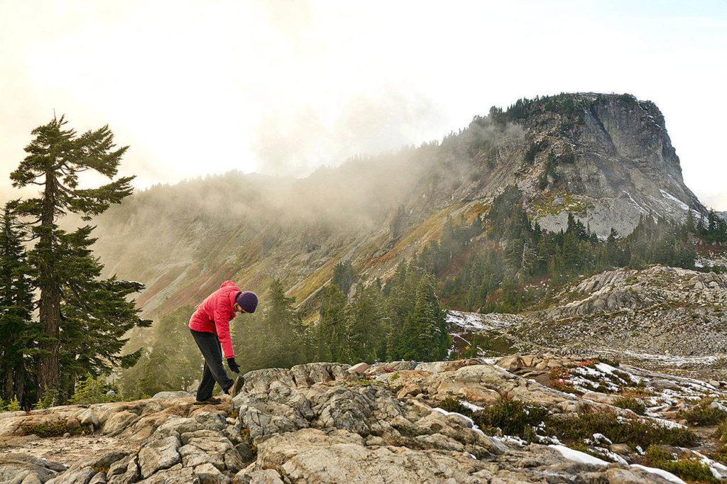 Hiking Through the Wilderness