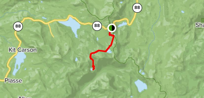 Fourth of July Lake Hiking Trail