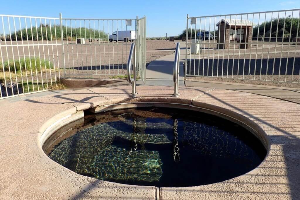 Hot Well Dunes Hot Springs