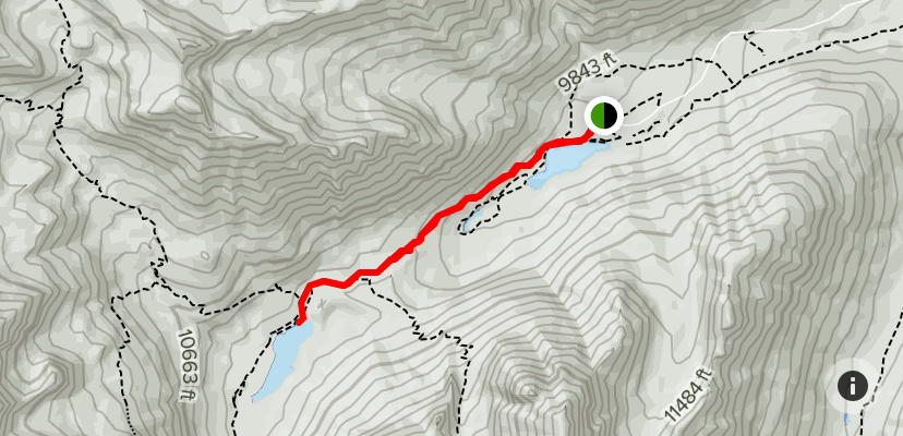 Crater Lake Hiking Trail