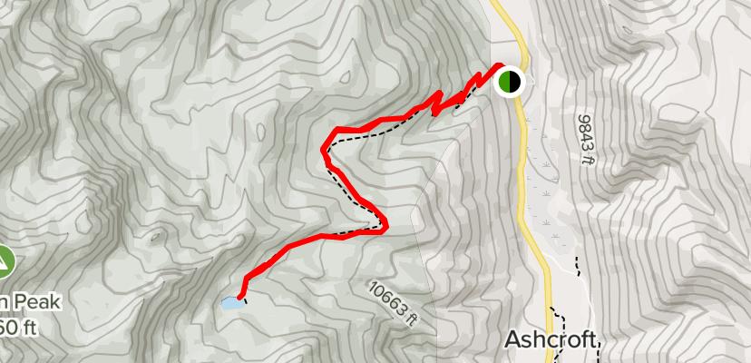 American Lake Hiking Trail