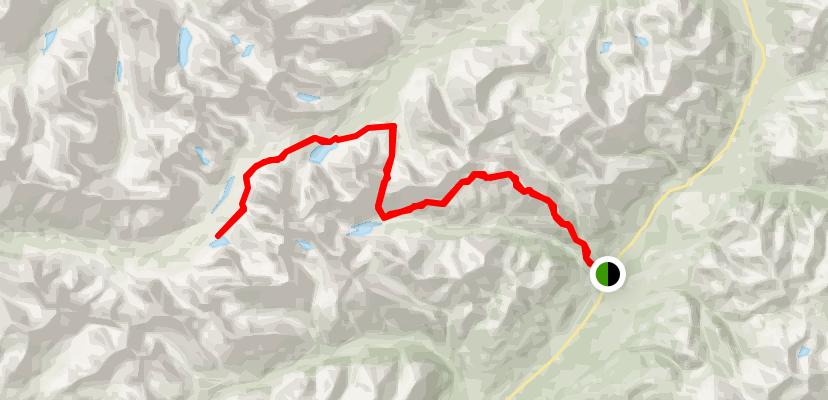 Grizzly Lake Hiking Trail