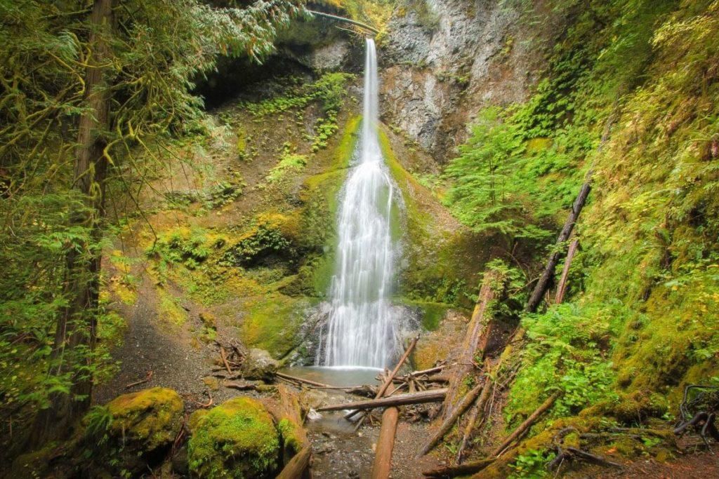 Marymere Waterfalls