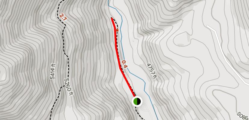 Bonneville Hot Springs Hiking Trail